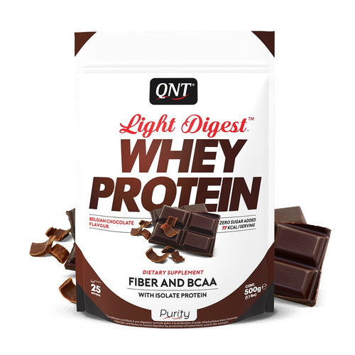 Qnt Purity-Light Digest Whey Protein Belgian Chocolate 500gr