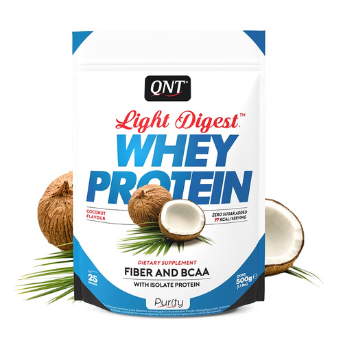 Qnt Purity-Light Digest Whey Protein Coconut 500gr
