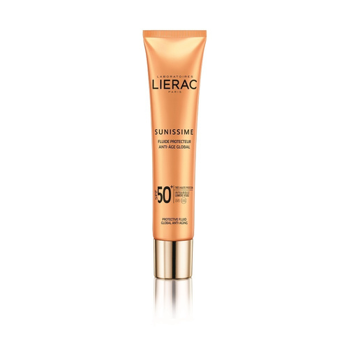 Lierac Sunissime Energizing Protective Fluid Global Anti Aging Αντηλιακή Λεπτόρρευστη Κρέμα SPF50+ 40ml