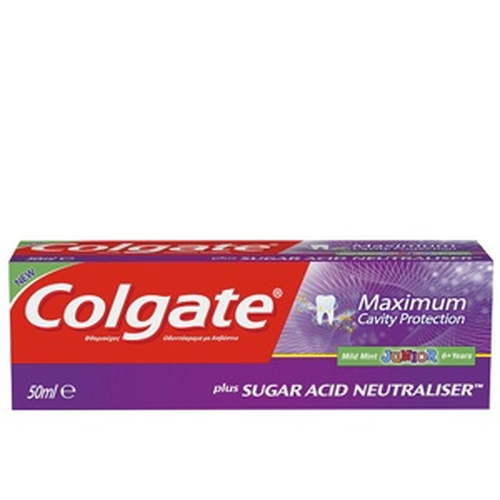 Colgate Max Cavity Protection Junior Οδοντόκρεμα 50ml