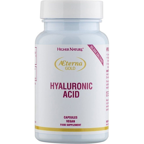 Higher Nature Aeterna Gold Hyaluronic Acid 30Vcaps