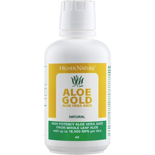 Higher Nature Aloe Gold Natural 485ml