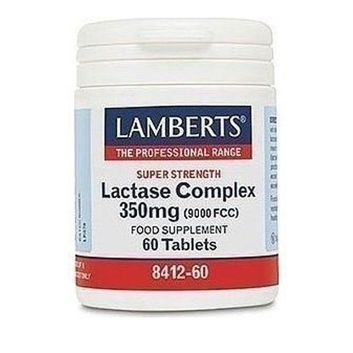 Lactase Complex 350mg 60 Ταμπλέτες