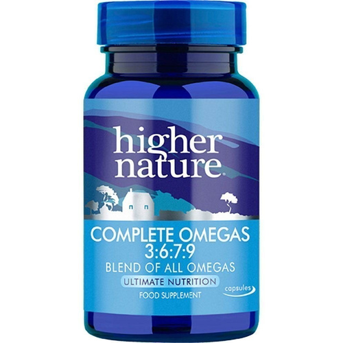 Higher Nature Complete Omegas 3:6:7:9 180caps