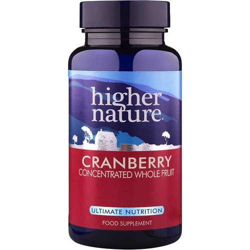 Higher Nature Cranberry 90tabs