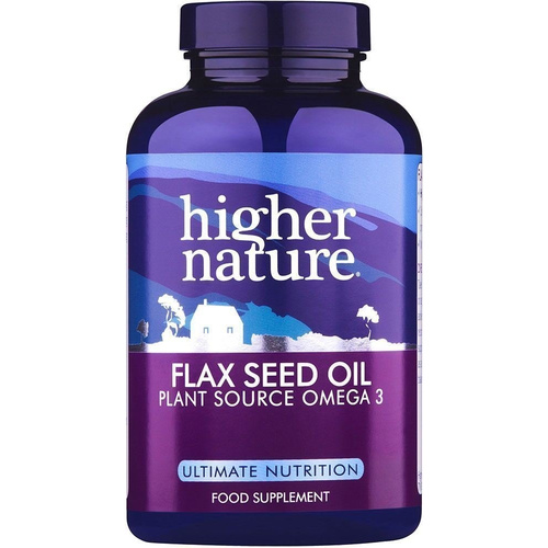 Higher Nature Flax Seed Oil 60caps
