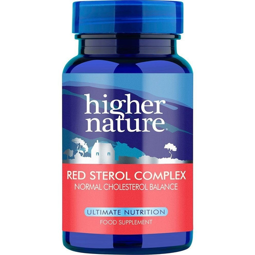 Higher Nature Red Sterol Complex 30tabs