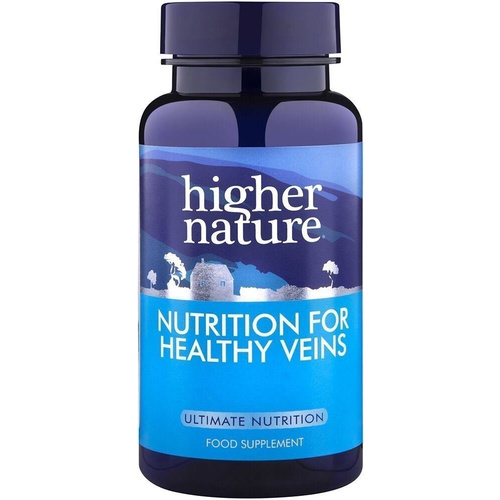 Higher Nature Nutrition for Healthy Veins 90Vcaps