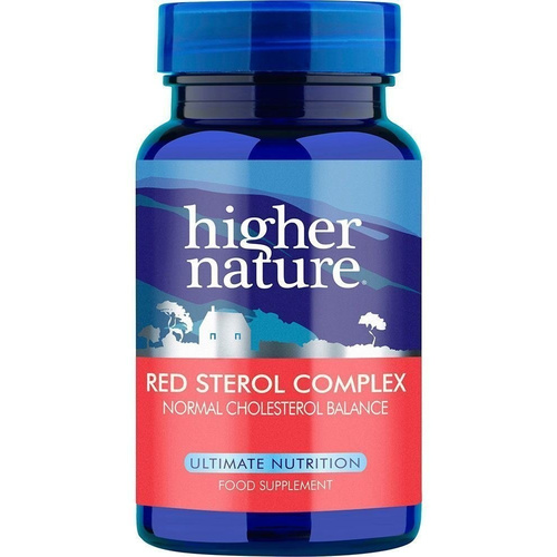 Higher Nature Red Sterol Complex 90tabs