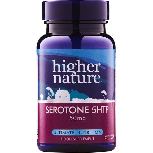 Higher Nature Serotone-5 Htp 50mg 90caps