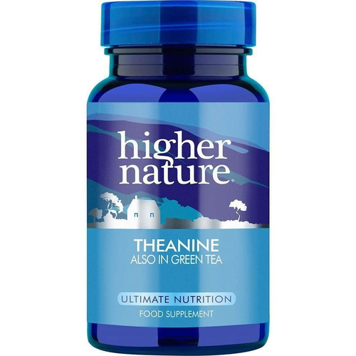 Higher Nature Theanine 30Vcaps