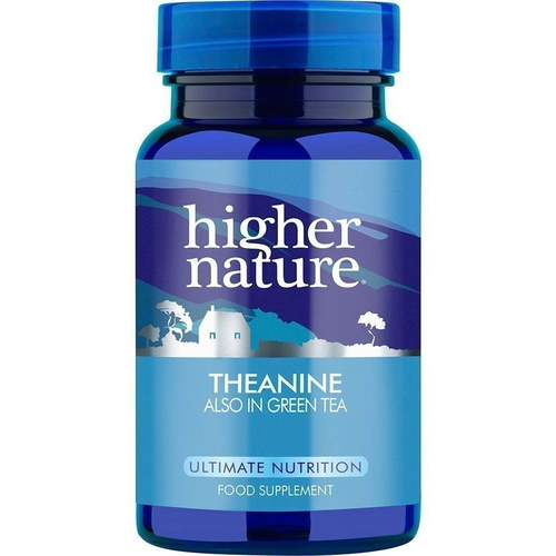Higher Nature Theanine 90Vcaps
