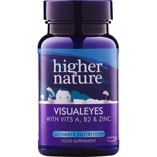 Higher Nature Visual Eyes 90caps