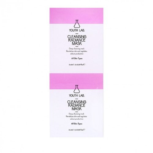 Youth Lab. Cleansing Radiance Mask 2x6ml