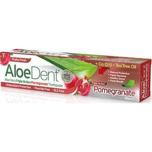 Optima Aloe Dent Pomegranate Toothpaste 100ml