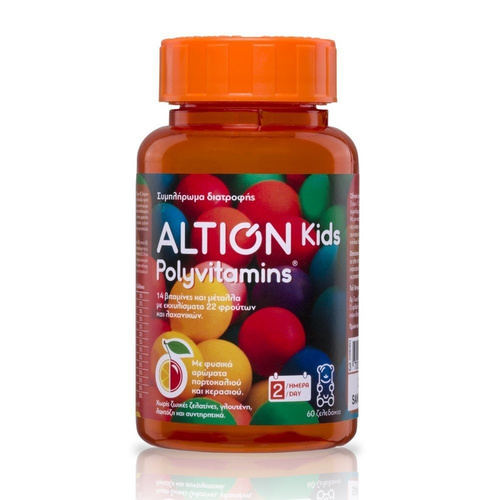 Altion Kids Polyvitamins 60 Gels