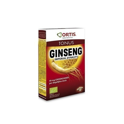 Ortis Panax Ginseng Imperial Dynasty 20 Δισκία