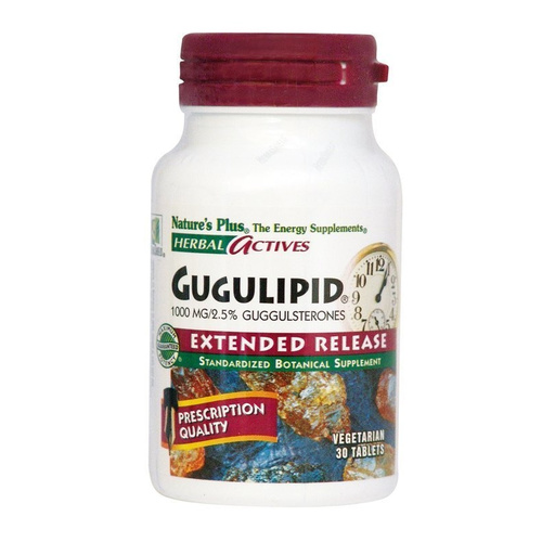 Nature's Plus Gugulipid Extended Release 1000mg 30VCaps