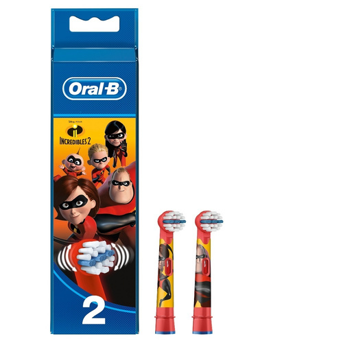 Oral-B Stages Power Ανταλλακτικά The Incredibles 2Τμχ