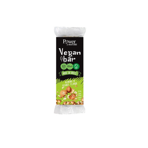 Power Health Power of Nature Vegan Bar Almond & Peanut 45gr