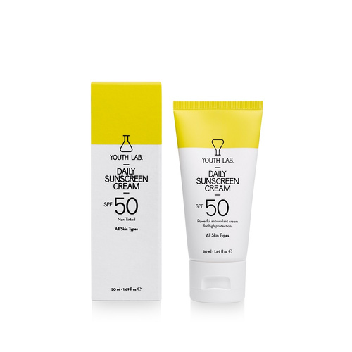 Youth Lab. Daily Sunscreen Cream Αντηλιακή Προσώπου SPF50 50ml