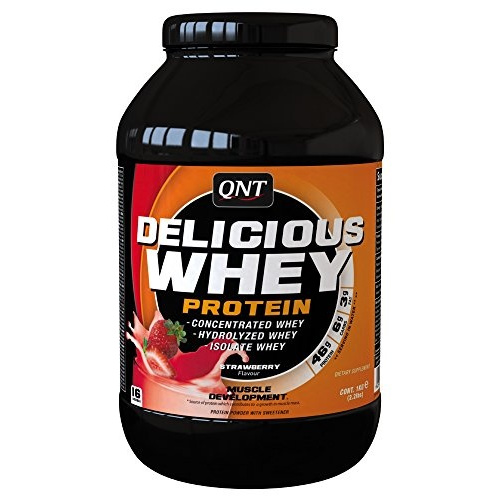 Qnt Delicious Whey Protein Powder Strawberry 1Kg