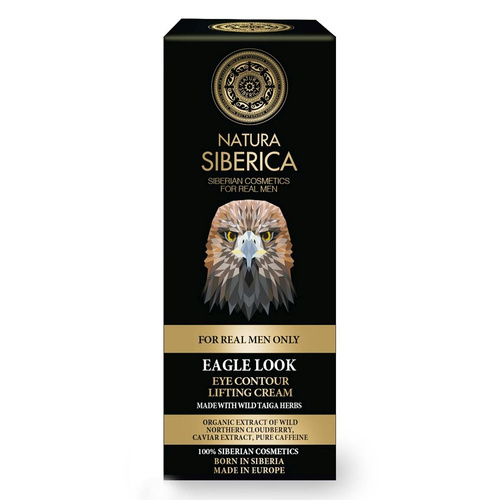 Natura Siberica For Men Only Eagle Eye Look Κρέμα Ματιών Lifting 30ml
