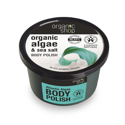 Natura Siberica Organic Shop Atlantic Algae & Sea Salt Body Polish Απολεπιστικό Σώματος 250ml