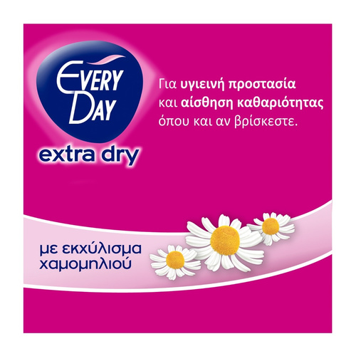 Every Day Extra Dry Large Σερβιετάκια 34+16τμχ