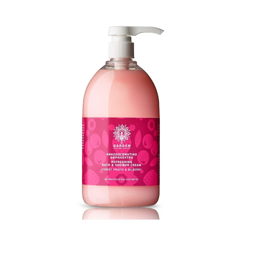 Garden Refreshing & Bath Shower Cream Forest Fruits & Bilberry 1Lt