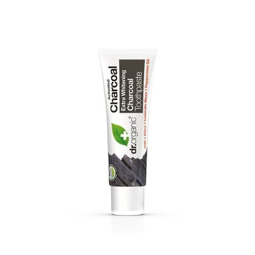 Dr.Organic Extra Whitening Charcoal Toothpaste 100ml