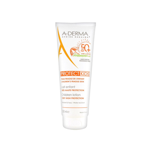A-Derma Protect Kids Children Lotion Very High Protection Αντηλιακό Γαλάκτωμα Παιδικό SPF50+ 250ml