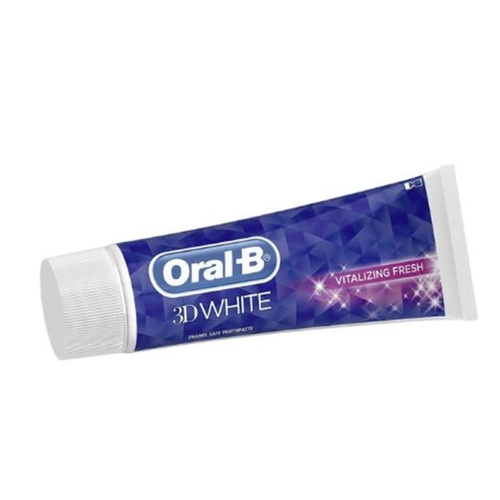 Oral-B 3D White Vitalizing Fresh Οδοντόκρεμα 75 ml