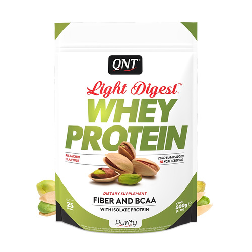 Qnt Purity-Light Digest Whey Protein Pistachio 500gr