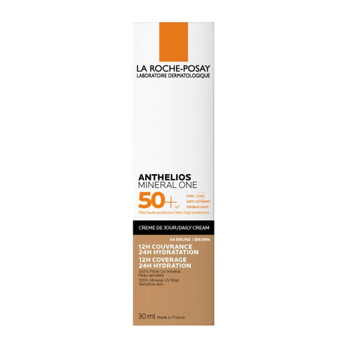 La Roche Posay Anthelios Mineral One 04 Brown SPF50+ Αντηλιακή Προσώπου με Χρώμα 30ml