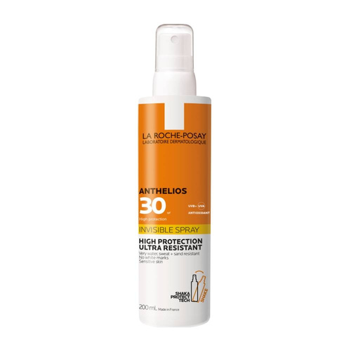 La Roche Posay Anthelios Invisible Spray Shaka SPF30+ Αόρατο Αντηλιακό Σώματος 200ml