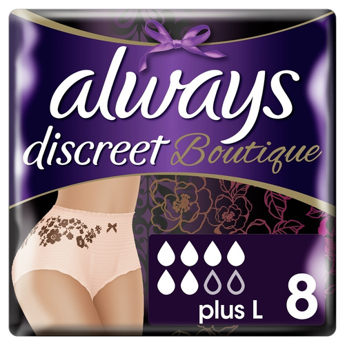 Always Discreet Boutique Pants Large No6 8Τμχ