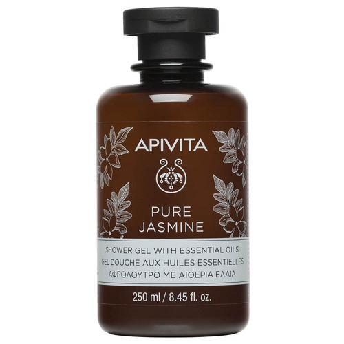 Apivita Pure Jasmine Shower Gel With Essential Oils 250ml