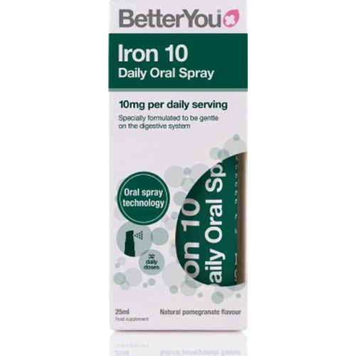 Better You Iron 10mg Daily Oral Spray 25ml