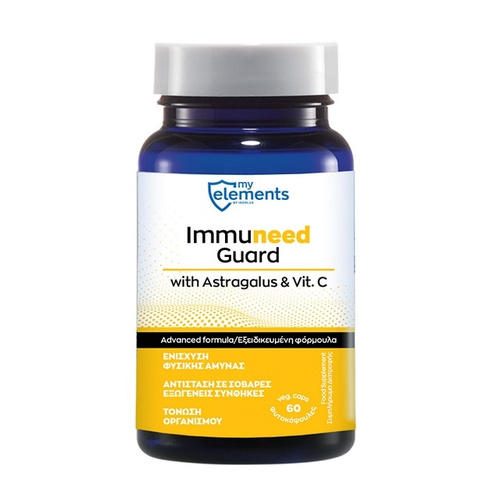 My Elements Immuneed Guard with Astragalus & Vit C 60Caps