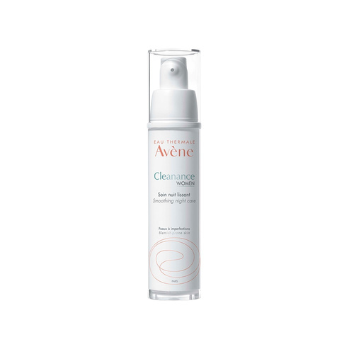 Avene Cleanance Women Smoothing Night Cream Κρέμα Λείανσης Νύχτας 30ml