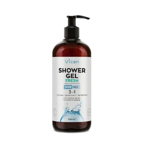 Vican Wise Men Shower Gel Fresh 500ml