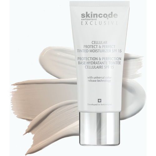 Skincode Cellular Protect & Perfect Tinted Moisturizer Spf15 30ml