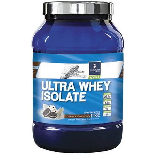 My Elements Sports Ultra Whey Isolate Cookies & Cream 1000gr