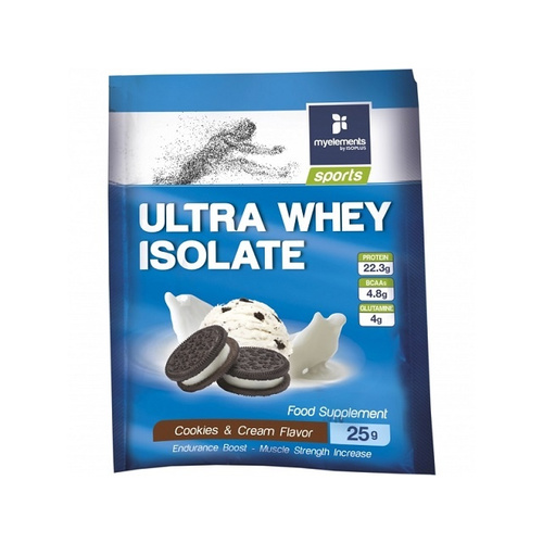My Elements Sports Ultra Whey Isolate Cookies & Cream 25gr