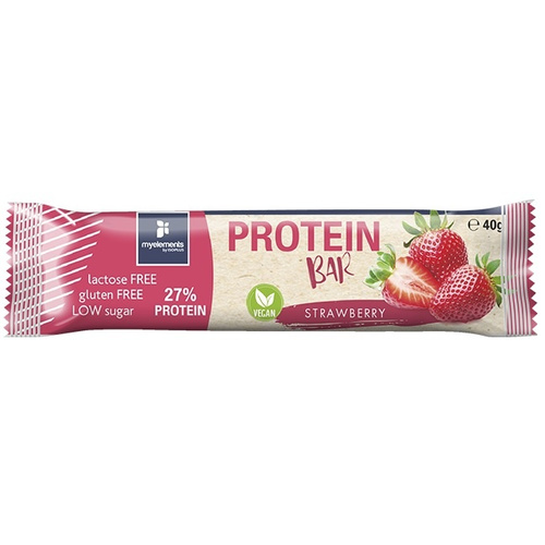 My Elements Protein Bar Vegan Strawberry 40gr