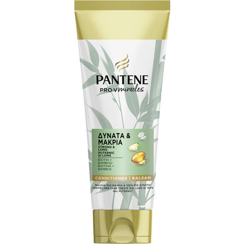 Pantene Strong & Long Bamboo Conditioner 200ml
