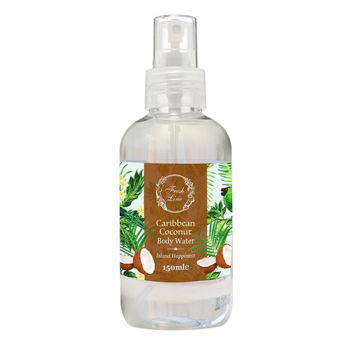 Fresh Line Caribbean Coconut Body Water 150ml