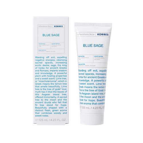 Korres After Shave Balm Blue Sage 125ml