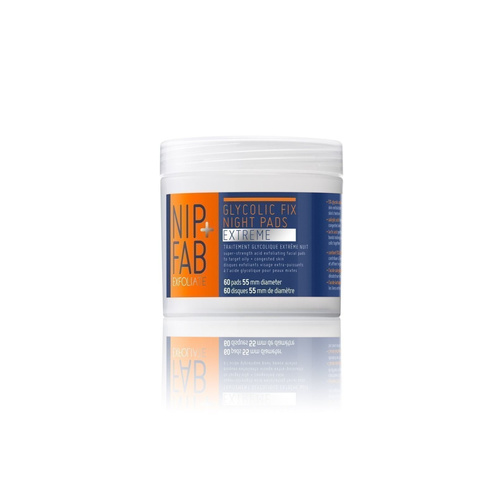 Nip+Fab Clycolic Fix Night Pads Extreme Απολεπιστικά Μαντηλάκια Προσώπου 60τμχ